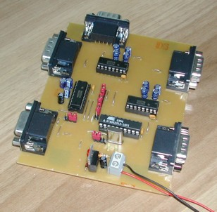low-cost rs232 multiplexer